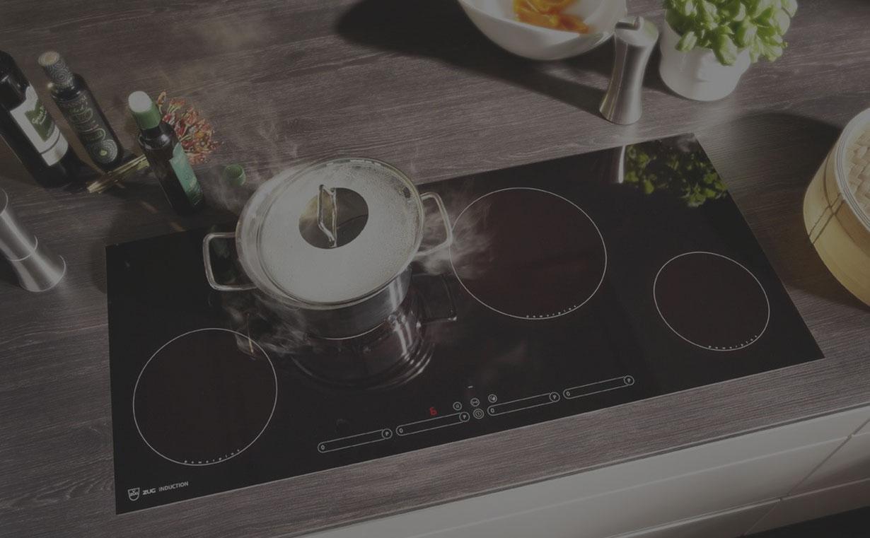 piano cottura a induzione v-zug